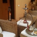 Shisha Sky Bar in Marrakech & Drinking Mint Tea | Riad Al Ksar