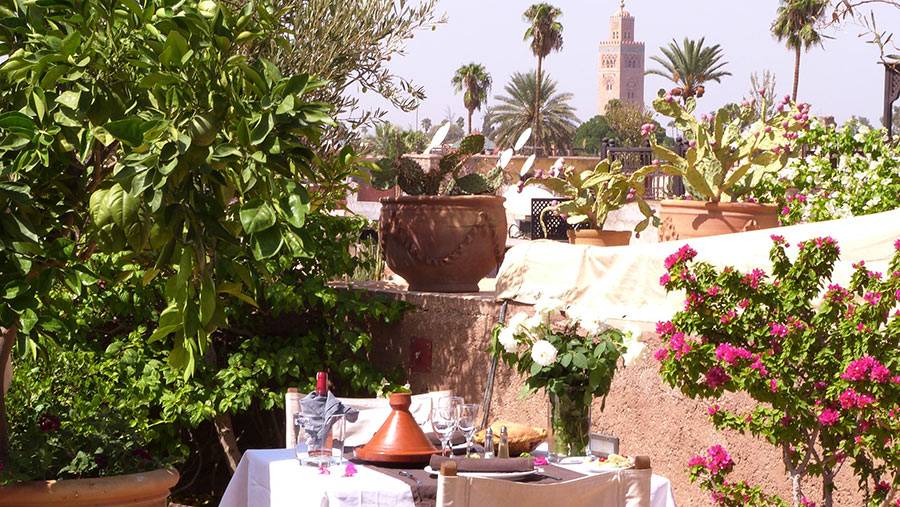 Marrakech Restaurant & Bar | Riad Al Ksar in Medina