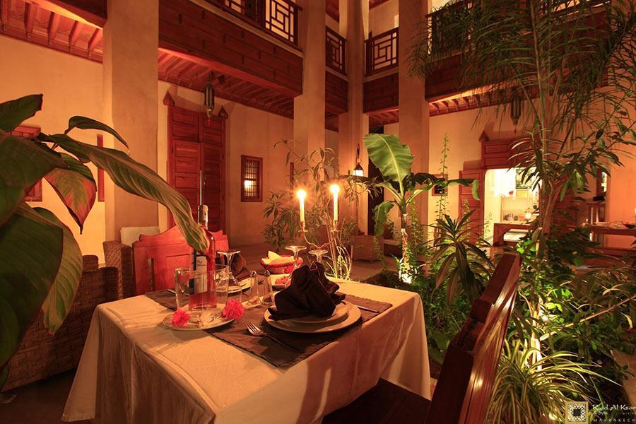 Moroccan Restaurant Marrakech - Cuisine & Wine | Riad Al Ksar