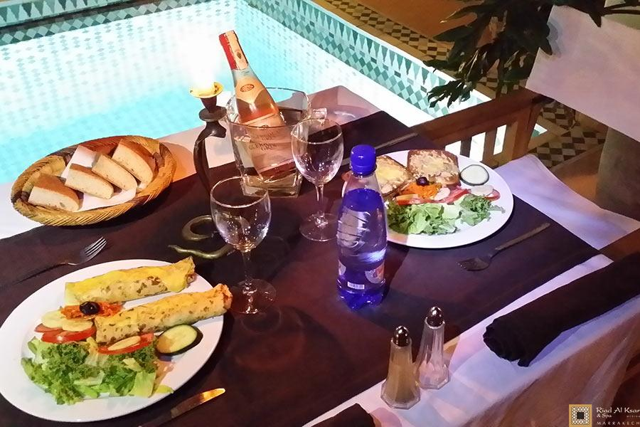 restaurant marocain a marrakech | Riad Al Ksar