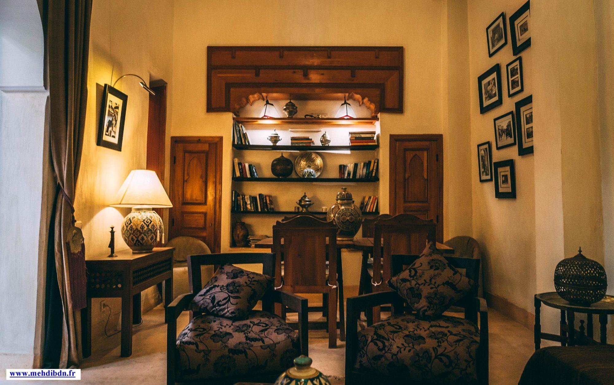 Cosy Restaurant in Marrakech Riad Al Ksar for Romantic Dinner