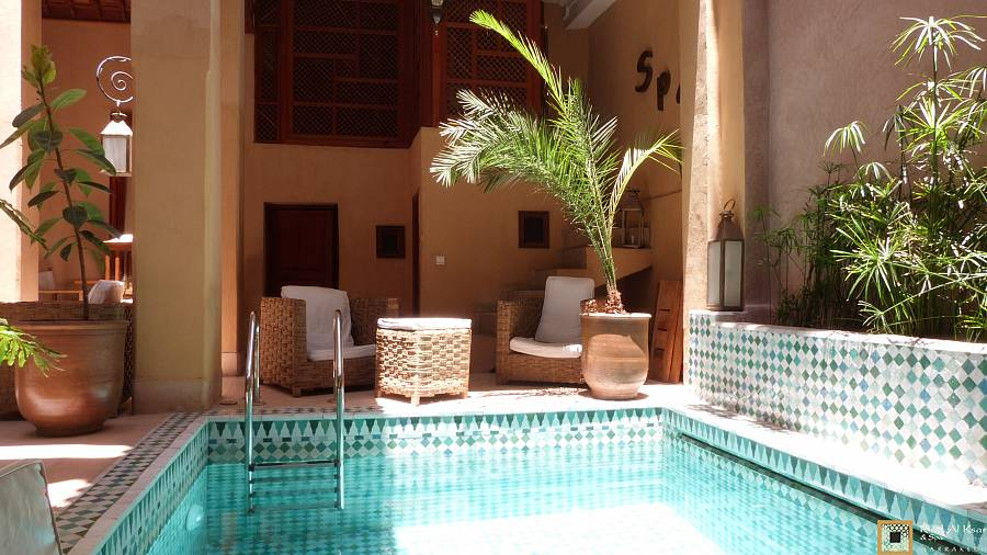 Moroccan hammam massage in marrakech riad al ksar spa - Riad medina marrakech avec piscine ...