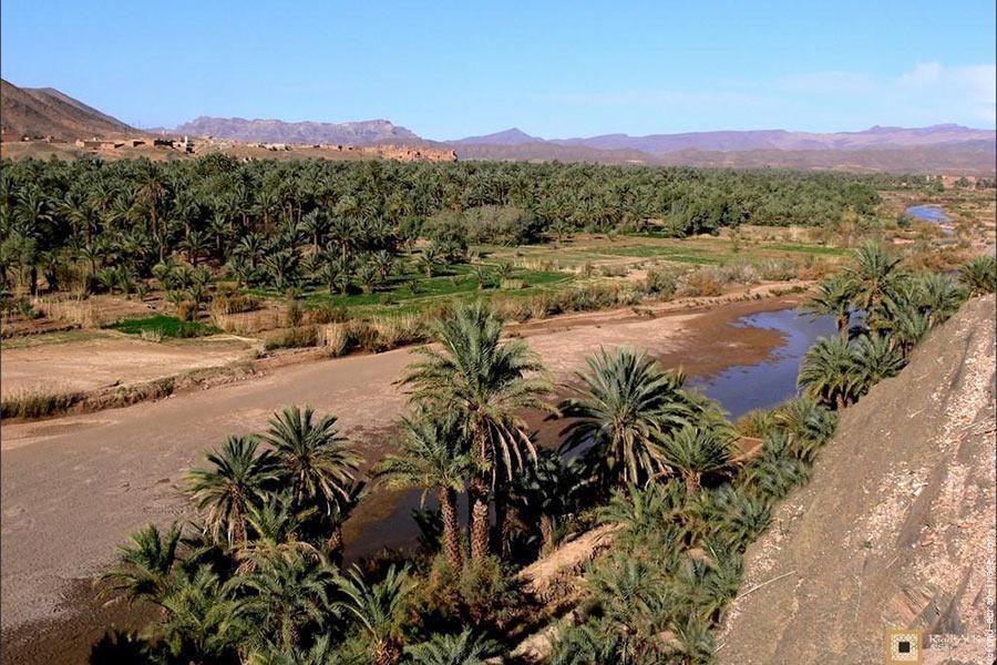 Vallee du Draa en route vers le Désert Sahara Marocain | Riad Al Ksar