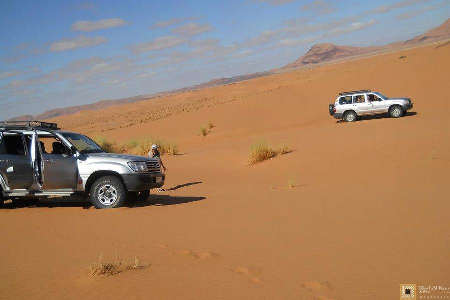 4x4 Désert Sahara Marocain Dunes | Riad Al Ksar