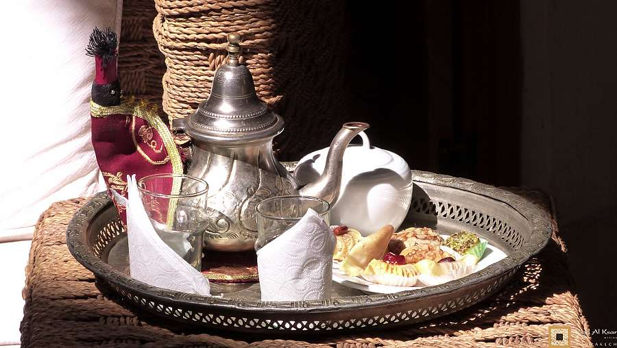 Moroccan Mint Tea - Thé à la menthe Marocain - théière marocaine moroccan tea pot
