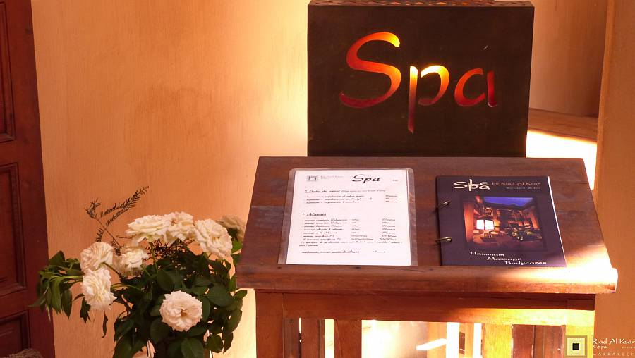 week end day spa marrakech hotel riad Bain Piscine Hammam Massage | Riad Al Ksar