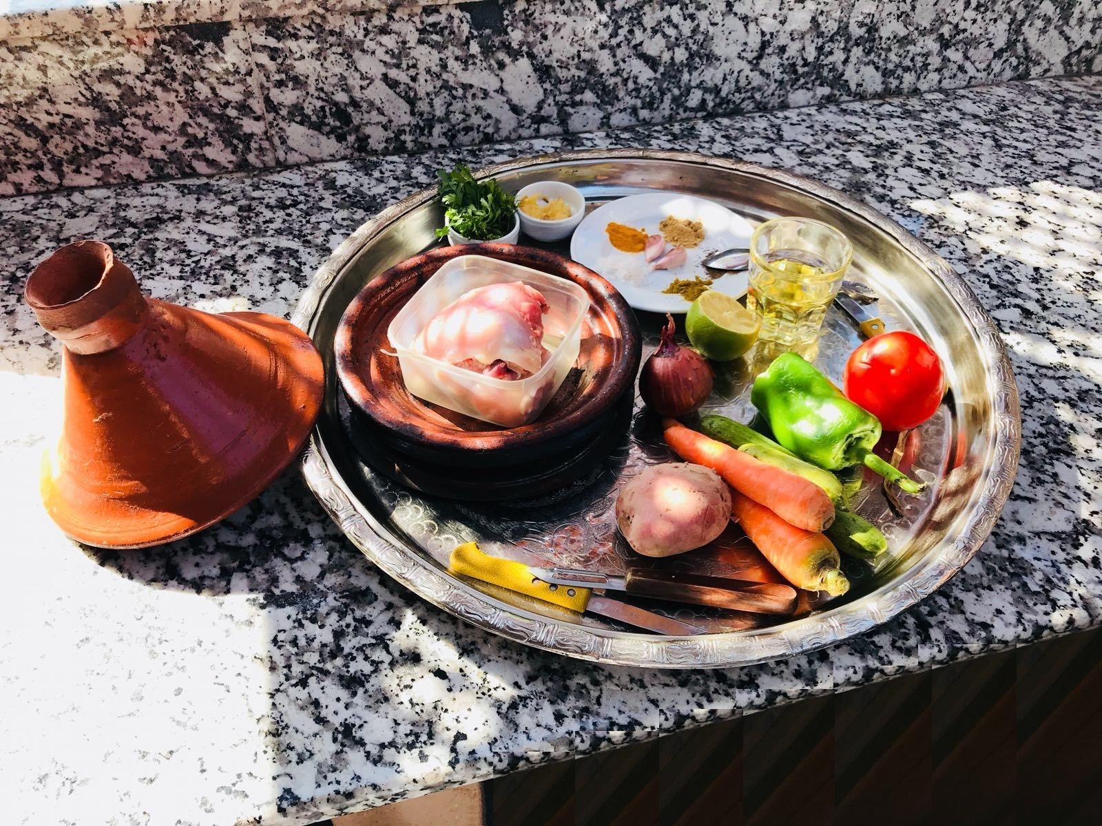 tagine cours cuisine Marrakech Cooking Class Workshop at Riad Al Ksar