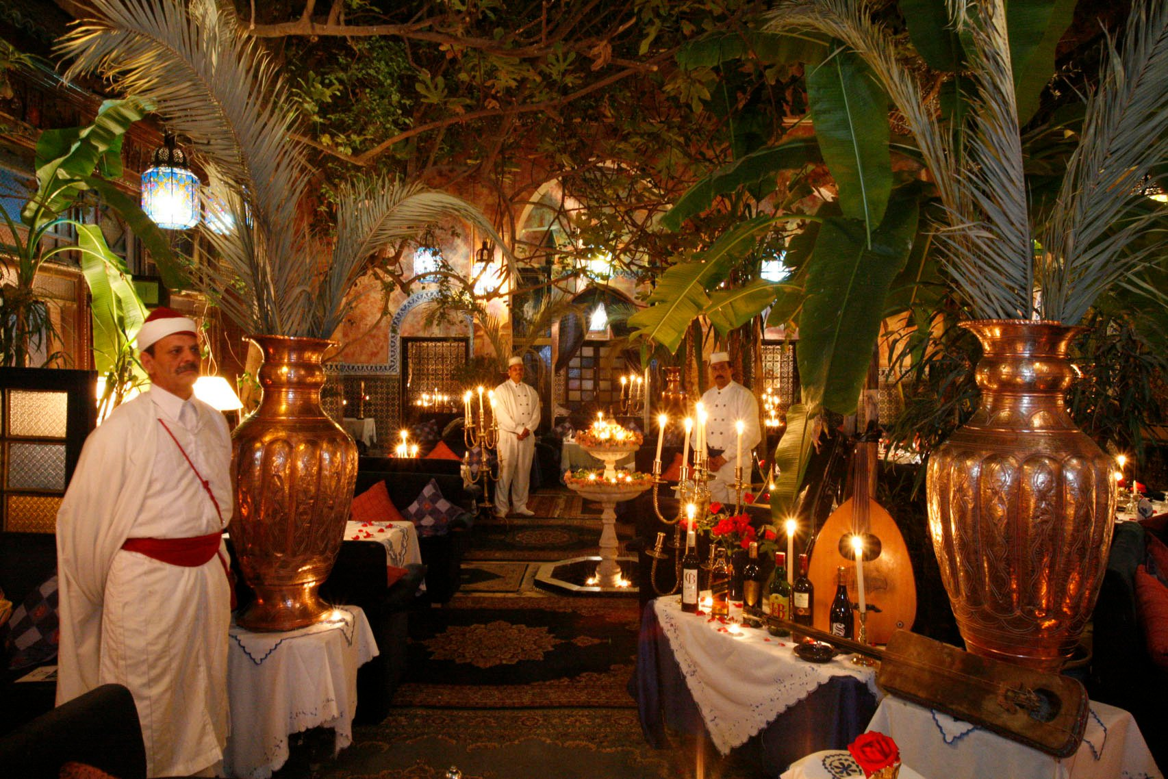 Restaurant Le Riad Paris
