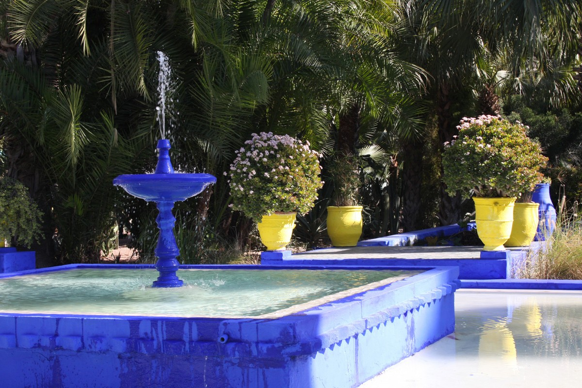 Gardens of marrakech majorelle menara agdal riad for Jardin yves saint laurent