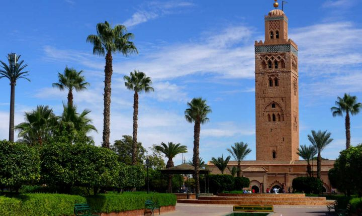koutoubia marrakech maroc
