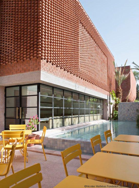 Musée Yves Saint Laurent Marrakech YSL myslm Café Restaurant le Studio | Riad Al Ksar & Spa