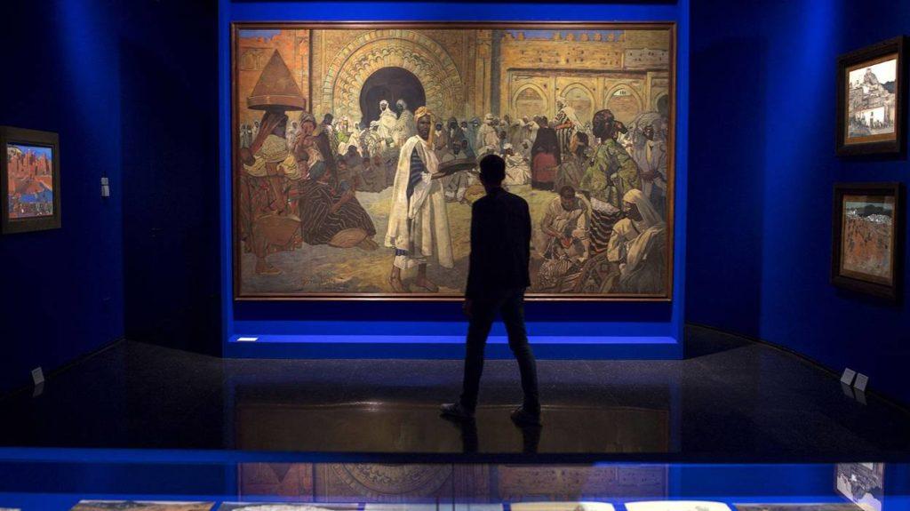 Musée Yves Saint Laurent Marrakech YSL myslm Peinture Jacques Majorelle | Riad Al Ksar & Spa