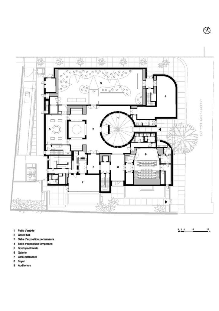 Musée Yves Saint Laurent Marrakech YSL myslm Plan | Riad Al Ksar & Spa