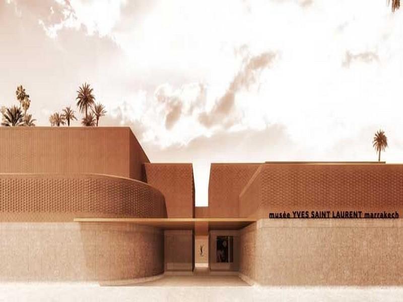 musée fondation yves saint-Laurent Marrakech