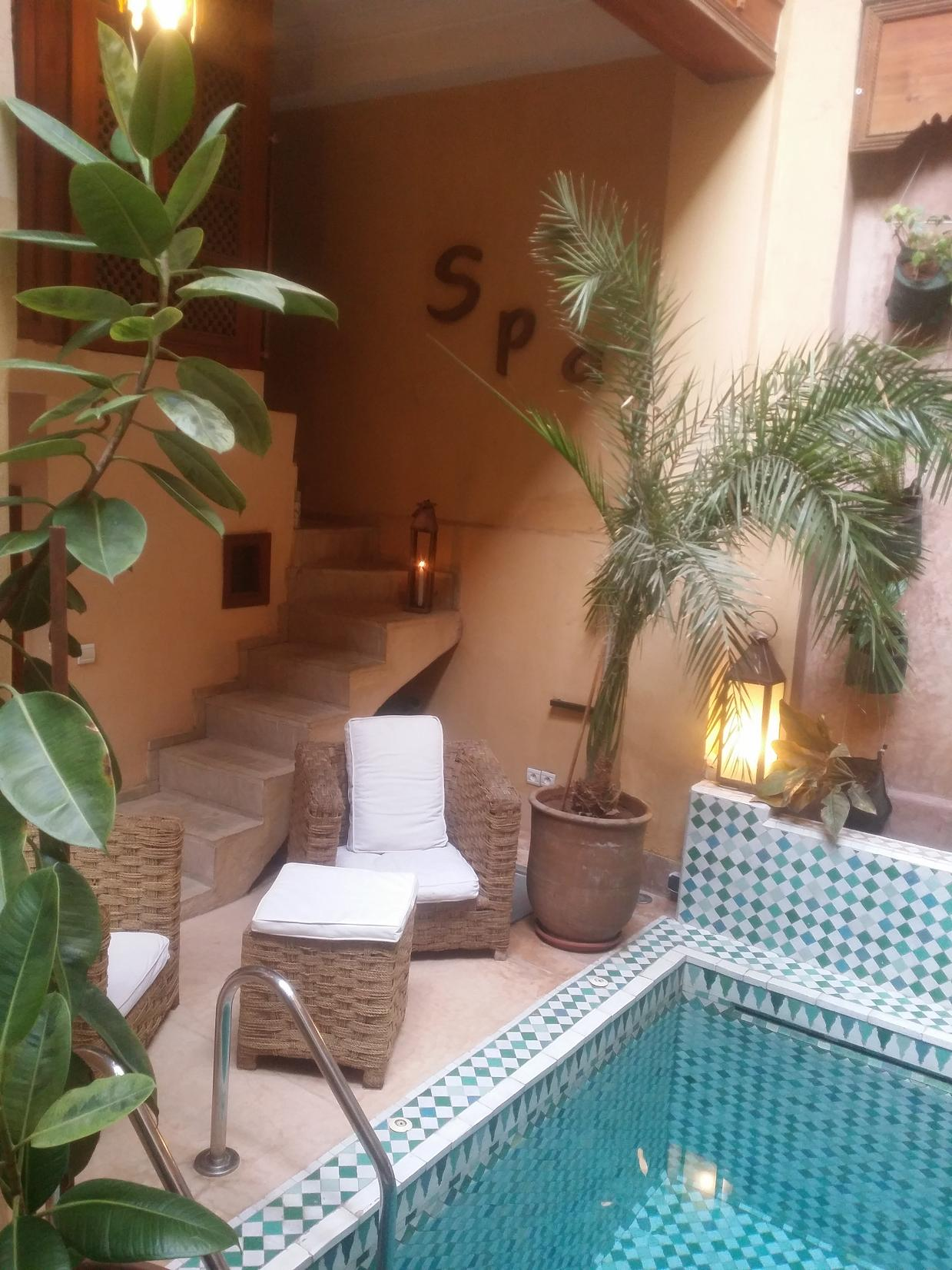 Riad Rental with Pool in Marrakech | Riad Al Ksar & Spa