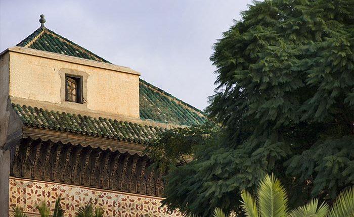 dar el bacha musee confluences marrakech lieux saints |Patio Jardin Riad Dar El Bacha