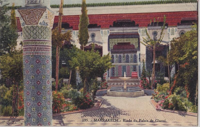 Dar el Bacha Musee des Confluences Palais Pacha Glaoui Marrakech | riad palais du glaoui