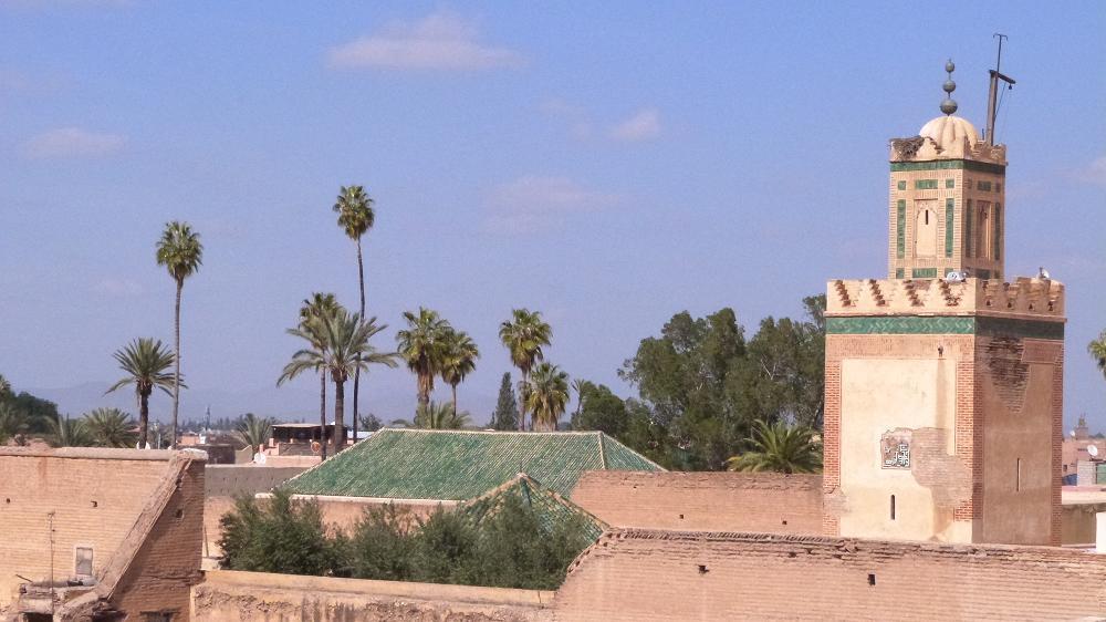 palais_bahia marrakech vue depuis le Riad Al Ksar