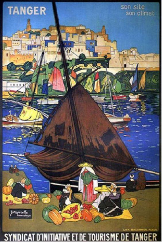 JACQUES MAJORELLE Affiche de promotion de Tanger