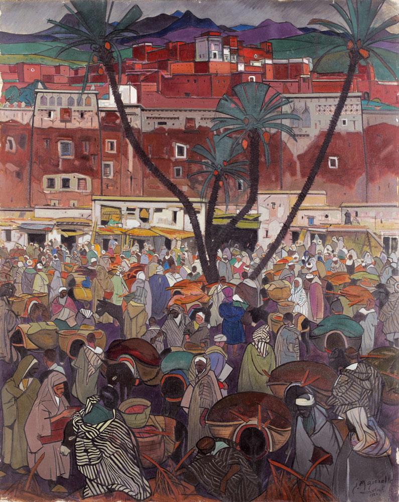 Jacques Majorelle 1924, Kasbah rouge
