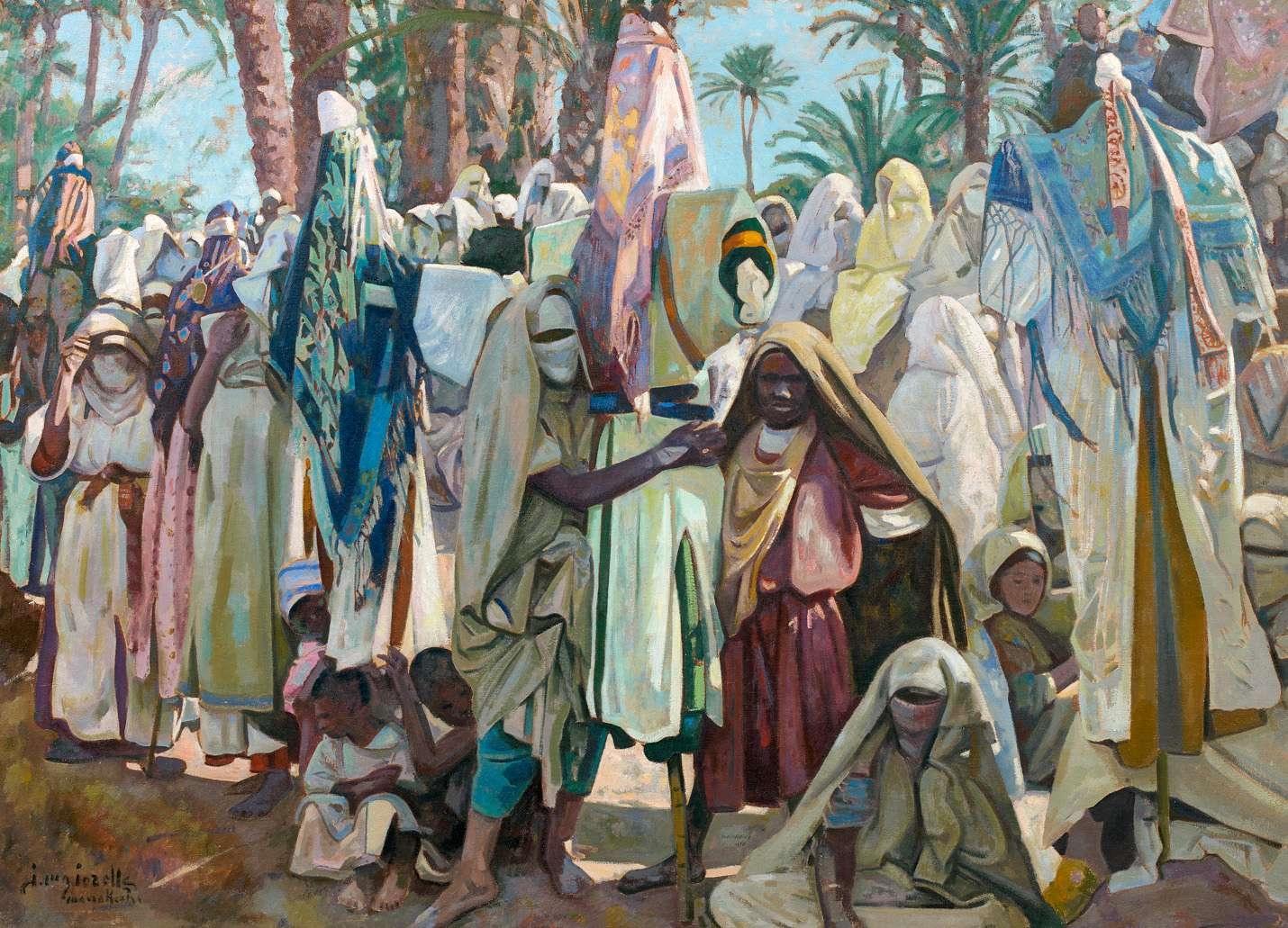 Jacques Majorelle Les Allamattes - Marrakech