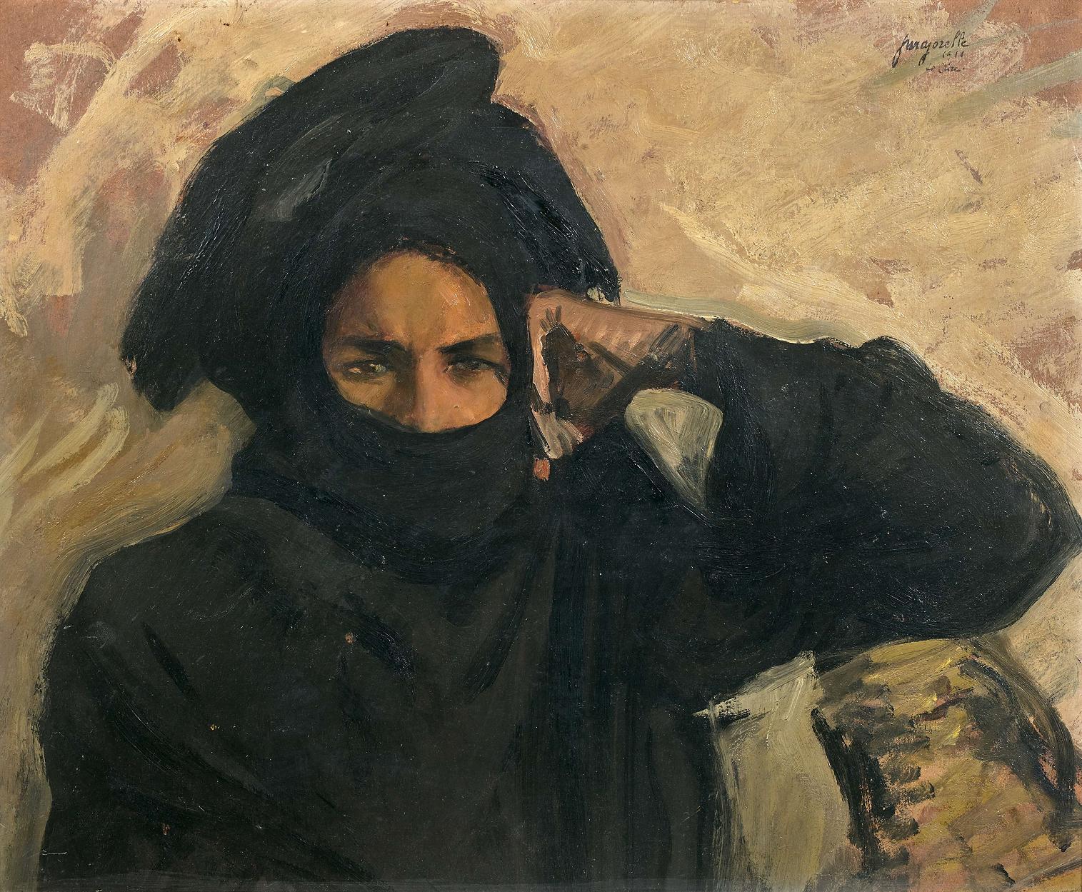 Jacques Majorelle – Portrait D'Égyptien – 1911