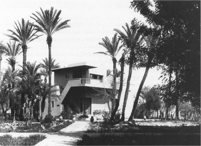 jacques-majorelle – villa Atelier Cubiste – workshop-around-1931