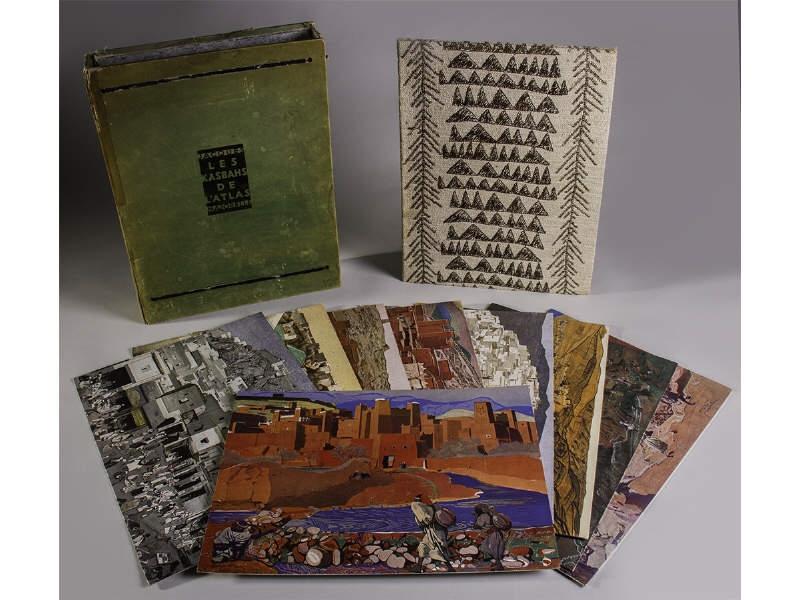Album les kasbahs de l atlas - Jacques Majorelle