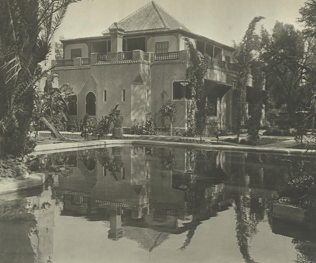Jacques Majorelle YSL Villa Bou Saf Saf Oasis marrakech