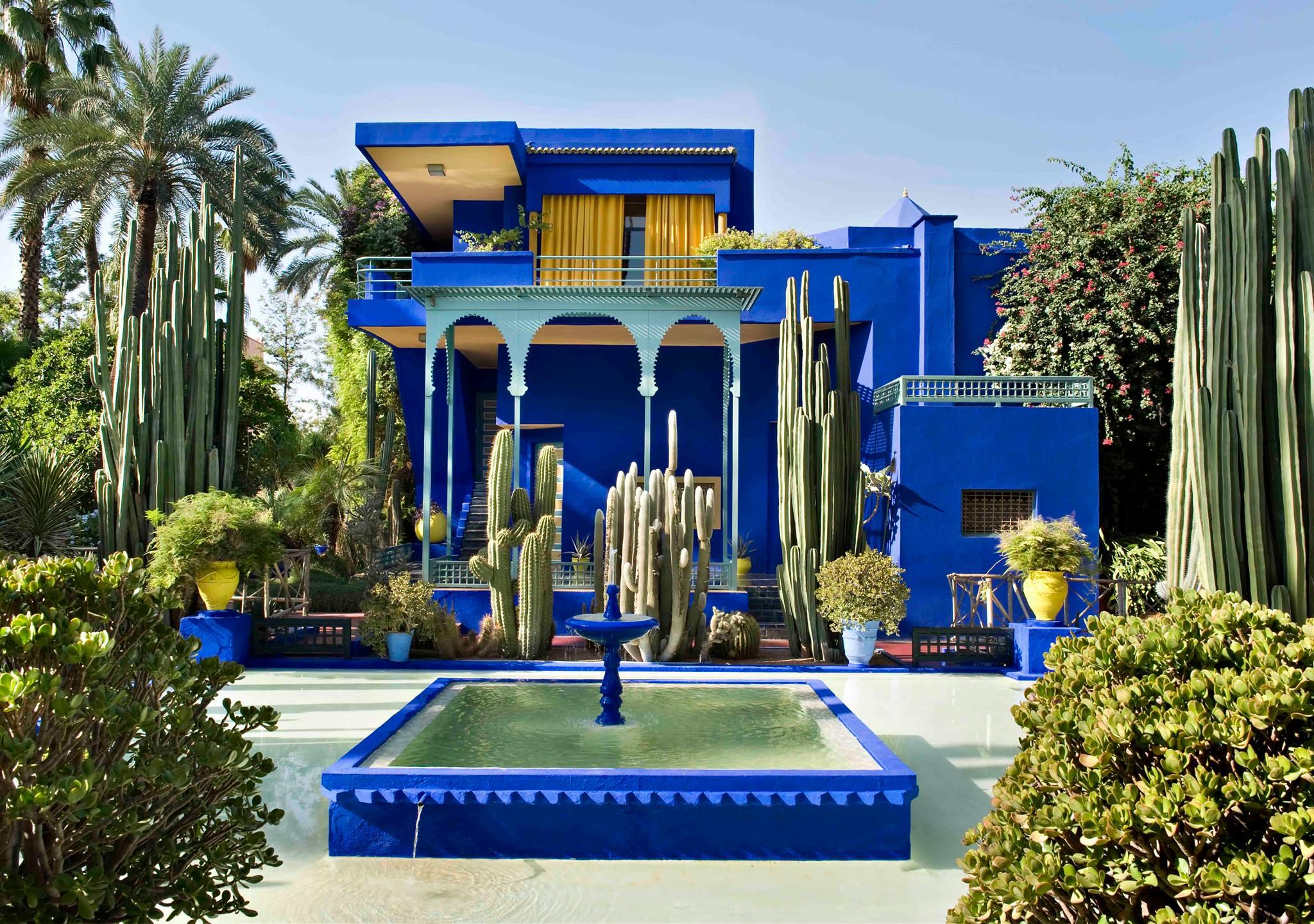 Atelier Villa Cubiste Bleue Jardin Majorelle - Architecte Paul Sinoir