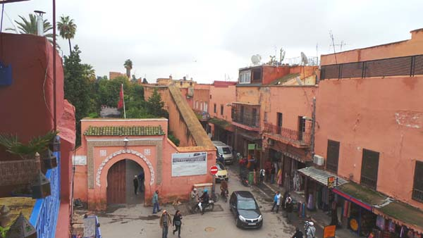 View-of-the-Mellah-in-Marrakech