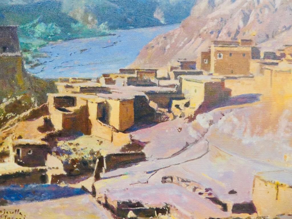 Village de Tasgah, vallée de Telouet - Jacques Majorelle