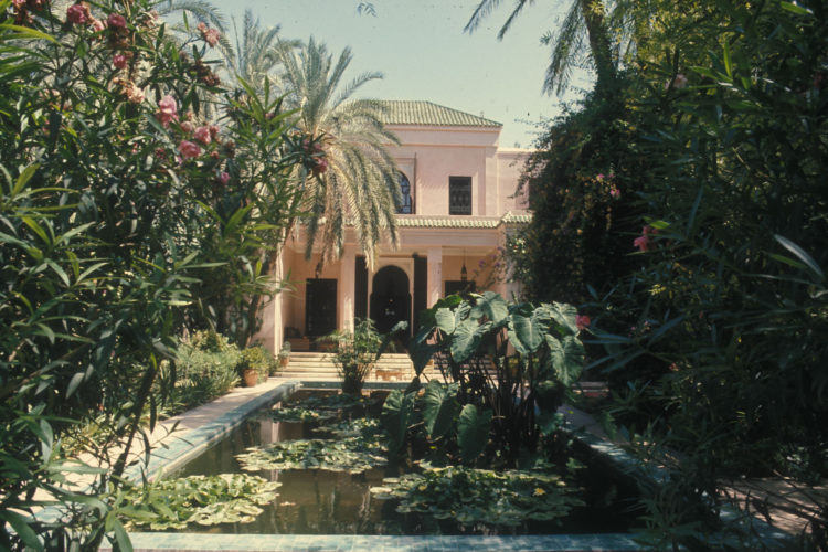 YSL_Marrakech_Dar Es Saada 1977 ©Guy-Marineau