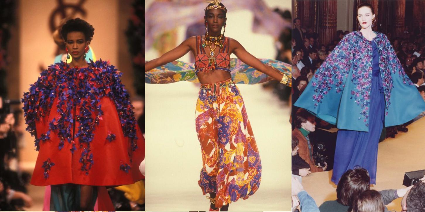 Yves saint laurent Défilé Haute Couture ©Guy-Marineau