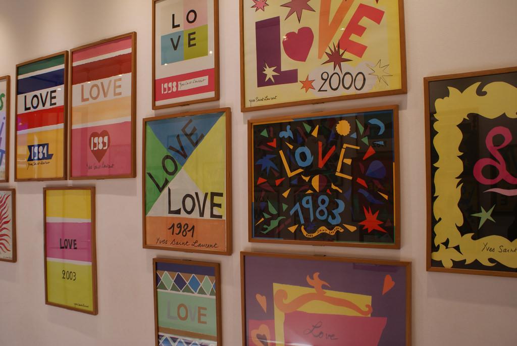 jardin majorelle affiches galerie love yves saint laurent