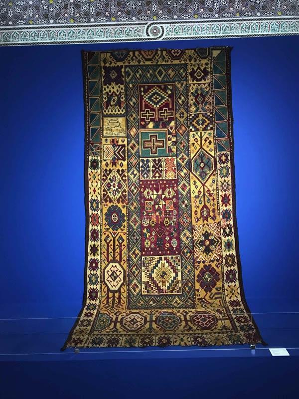 Musee Dar Si Said Marrakech Tapis