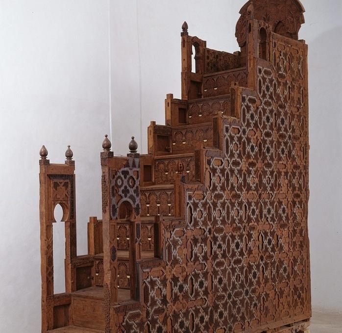 Minbar de la Mosquee de la Koutoubia-Marrakech