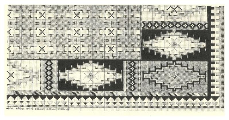 Mise en carte - motif tapis berbere