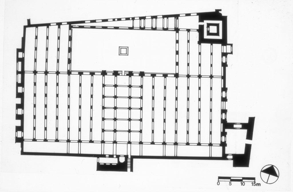 Plan de la Koutoubia - plan hypsostyle