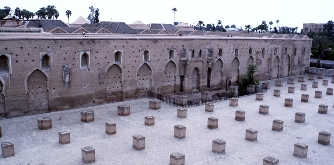 Ruines de l ancienne Mosquee de la Koutoubia Marrakech