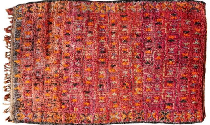 Tapis Berberes Marocains : Beni M guild rug
