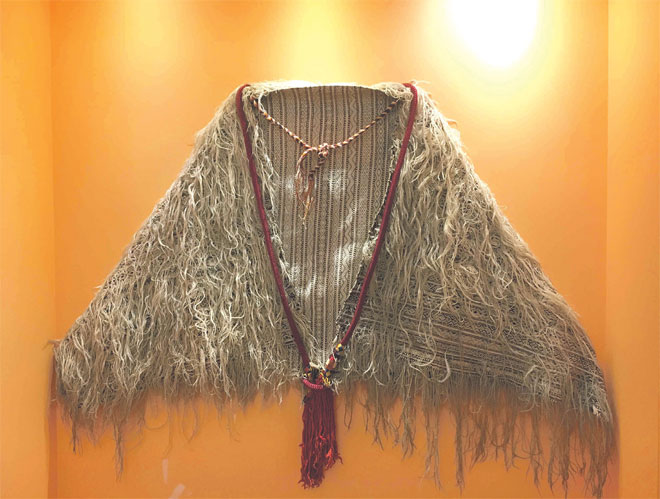 Berber Wool Garment - Dar Si Said Museum Marrakech