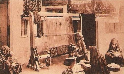 tissage-tapis marocain