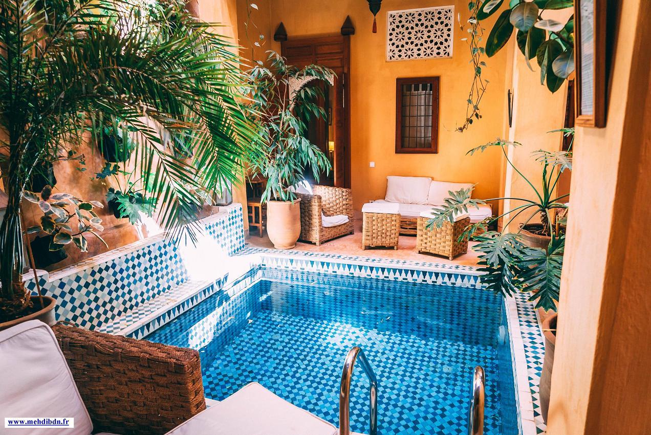 sejour riad piscine spa marrakech
