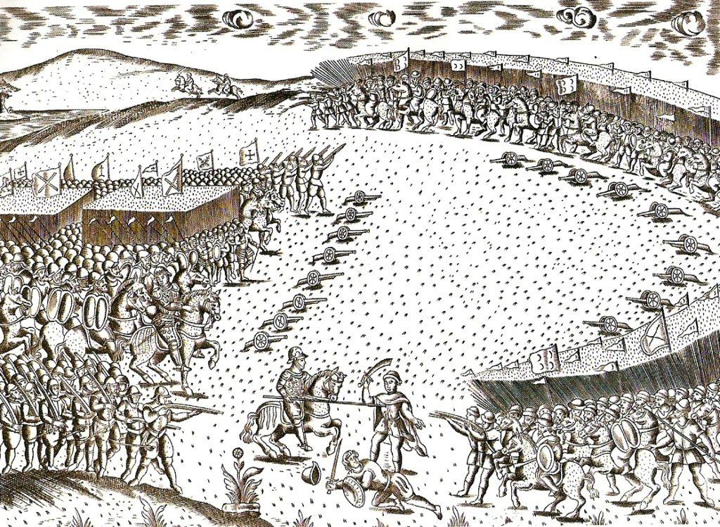 bataille des 3 rois oued al Makhazin - maroc 04 aout 1578
