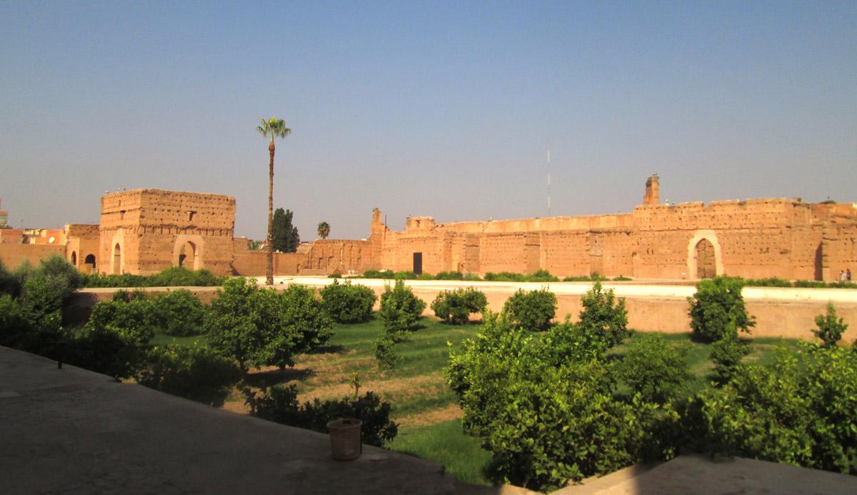 MARRAKECH_Palais El Badi Patio Sultan Saadien Ahmed El Mansour