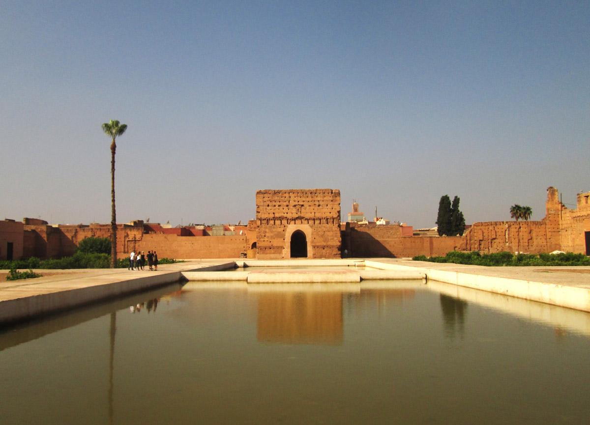 MARRAKESH_El Badi Palace pond