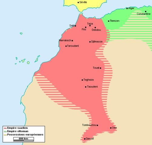 Maroc - fin_XVIe_siècle - Par © Omar-Toons