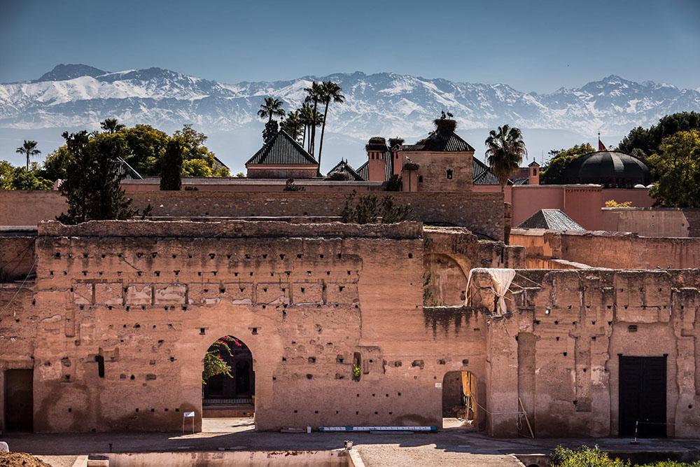 Palais El Badi marrakech Sultans saadiens - history of marrakech