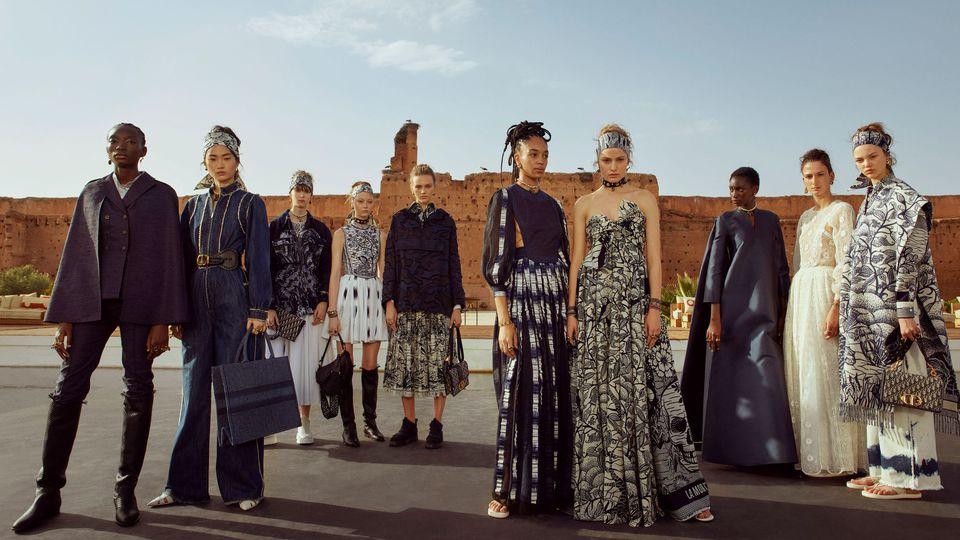 Palais El Badii Marakeş - Defilé Christian Dior-cruise 2019 Marakeş